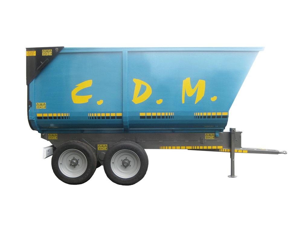 Rimorchio dumper TB140 - Macchine agricole CDM